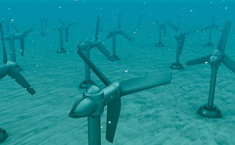 Mechanical seals underwater
